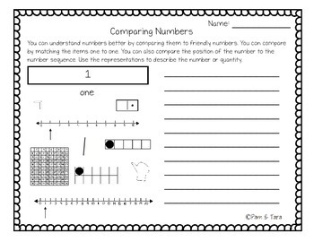 A Better Sense of Number: Comparing, Representing, and Describing