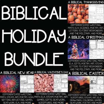 A Biblical Holidays Bundle!