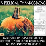 A Biblical Thanksgiving {Printables and Games}