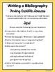 Writing A Bibliography Mini-Course CCSS Grades 3-8