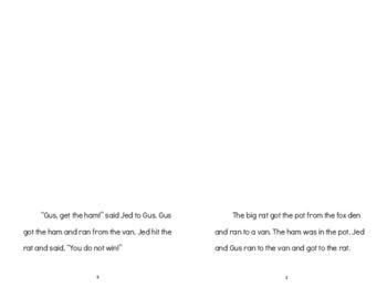 """A Big Bad Rat"": OG Level 1 Decodable Story (Focus: VC/CVC words – short vowels)"