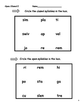 A Big Bundle of Syllable Instruction!