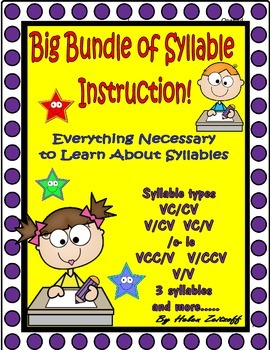 A Big Bundle of Syllable Instruction!