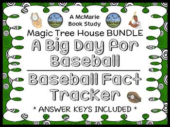 A Big Day for Baseball | Baseball Fact Tracker: Magic Tree House BUNDLE (48 pgs)