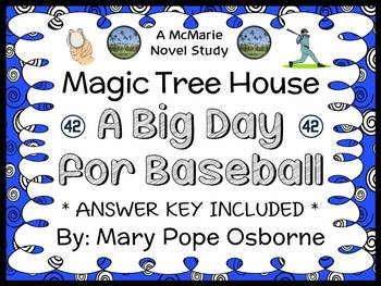 A Big Day for Baseball : Magic Tree House #29 (Mary Pope Osborne) Novel Study