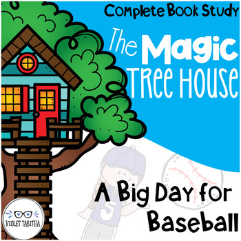 A Big Day for Baseball Magic Tree House Comprehension Unit