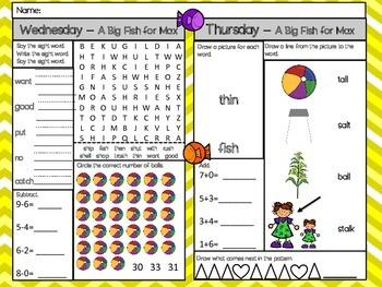 A Big Fish For Max - Scott Foresman 1st Grade