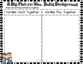 A Big Fish for Max 1st Grade Reading Street Unit 2 Story 1