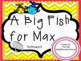 A Big Fish for Max Homework - Scott Foresman