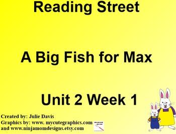A Big Fish for Max SmartBoard Companion 1st First Grade
