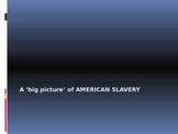 A Big Picture of American Slavery