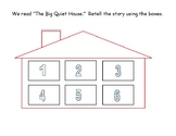 A Big Quiet House Sequence & Vocabulary Activity & Teacher