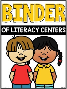 A Binder of Literacy Centers