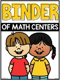 A Binder of Math Centers