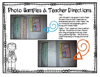 A Biography Interactive Journal {Can Be Used With Any Biography!}