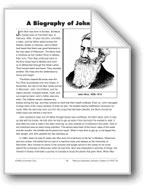 A Biography of John Muir