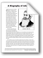 A Biography of John Muir/Biografía de John Muir