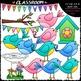 A Bird's Life - Clip Art & B&W Set