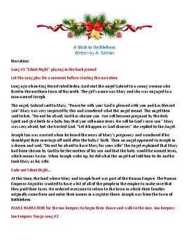 A Birth in Bethlehem - Christmas Play