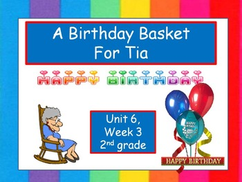 A Birthday Basket for Tia, Interactive PowerPoint, 2nd Grade