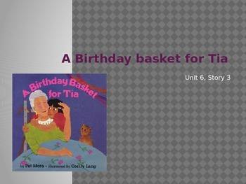 A Birthday Basket for Tia, Reading Street