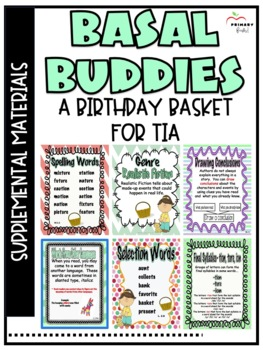 A Birthday Basket for Tia -Reading Street (2013) 2nd Grade Unit 6 Week 3