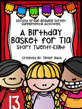 A Birthday Basket for Tia (Second Grade Reading Street)
