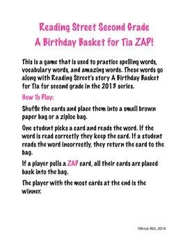A Birthday Basket for Tia ZAP