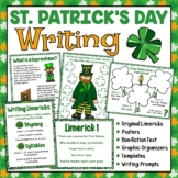 St. Patrick's Day Writing Activities | Writing Prompts | L