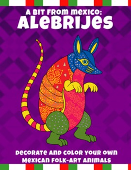 It is an image of Clever Alebrijes Coloring Pages
