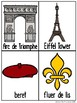 A Bit of France Write / Stamp the Room Activity Pack