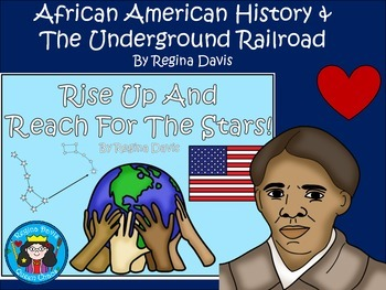 A+ African American  History & The Underground Railroad Book