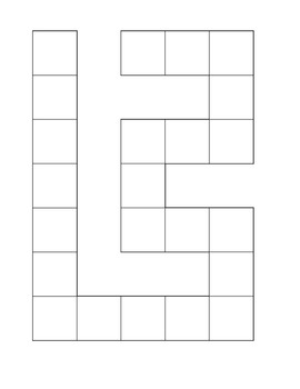 image relating to Printable Board Game Template referred to as Blank Sport Board Template Worksheets Academics Shell out Academics