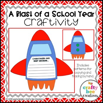 End of the Year Craft (A Blast of a School Year)