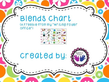 A Blends Chart FREEBIE
