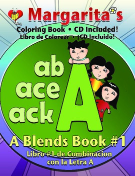 A Blends Coloring Book 1