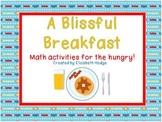 A Blissful Breakfast- 3 Math Activities