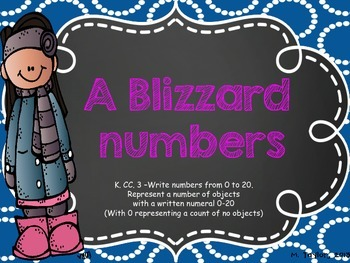 A Blizzard of Numbers (K.CC.A.3)