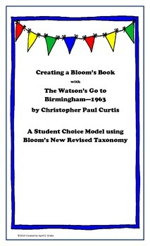 A Bloom's Book for The Watson's Go to Birmingham-1963