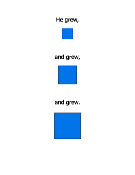A Blue Square, a children's learning book with innovation and determination