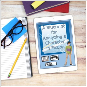 A Blueprint for Analyzing a Character in Fiction Creative Writing Activity