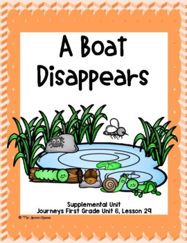 A Boat Disappears- First Grade Supplemental Unit