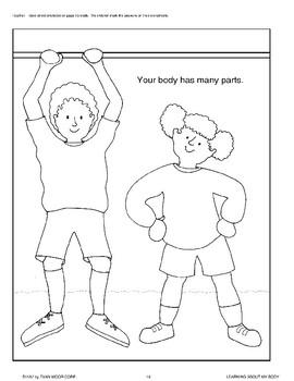 A Body Has Many External Parts