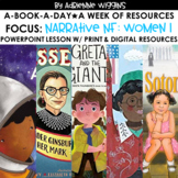 A-Book-A-Day - Narrative Nonfiction WOMEN Set 1 - Distance Learning