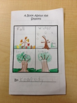A Book About Seasons - A Second Grade Introduction To The Seasons