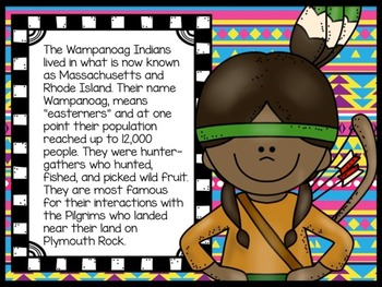 A Book About The Wampanoag Indians