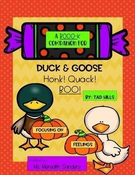 A Book Companion for Duck & Goose: Honk! Quack! Boo!