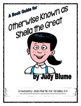 A Book Guide for Otherwise Known as Sheila the Great by Ju