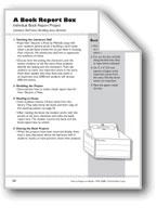 A Book Report Box (Book Project)
