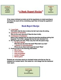 A Book Report Recipe
